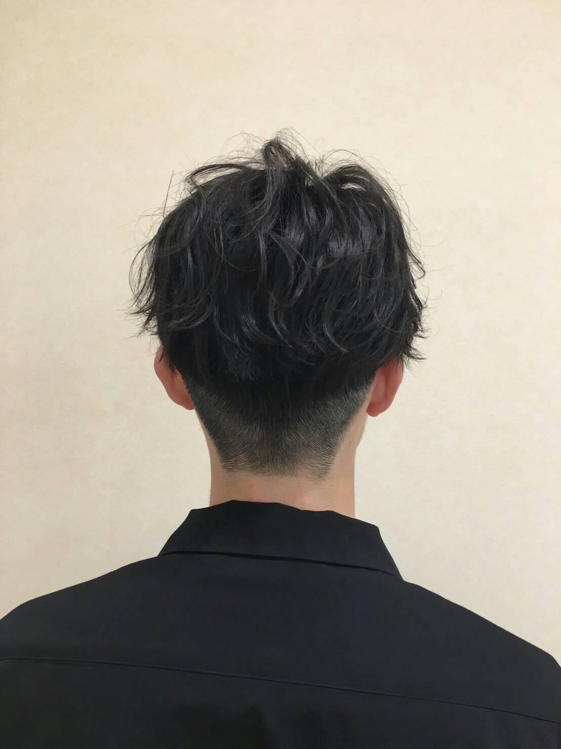 メンズ・ツーブロックスタイルⅢ(後ろを攻めた髪型) | ガッシュ茨城 ...